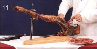 How to carve serrano ham